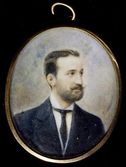 Michele Cilea, Brother of Francesco Cilea--Giclee Print