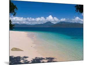 Beach on Fitzroy Island, Queensland, Australia by Michele Falzone
