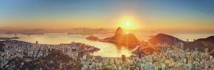 Brazil, Rio De Janeiro, View of Sugarloaf and Rio De Janeiro City by Michele Falzone