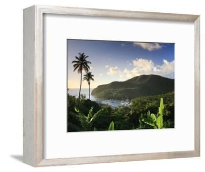 Caribbean, St Lucia, Marigot Bay and Harbour