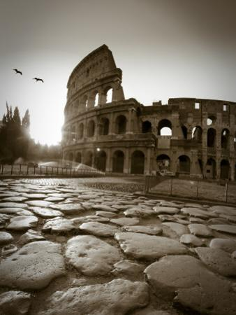 Colosseum and Via Sacra, Rome, Italy by Michele Falzone