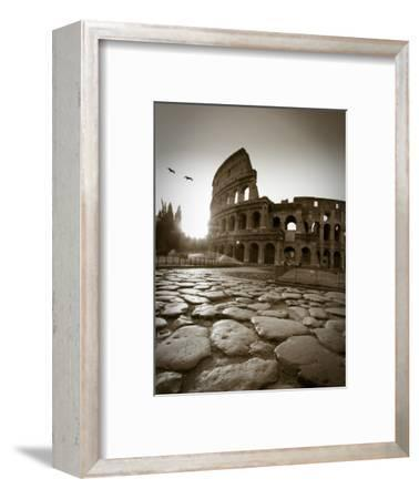 Colosseum and Via Sacra, Rome, Italy