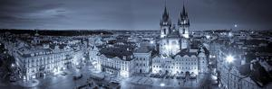 Czech Republic, Prague, Stare Mesto (Old Town), Old Town Square and Church of Our Lady before Tyn by Michele Falzone