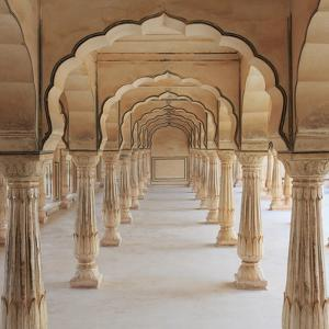 India, Rajasthan, Jaipur, Amber Fort by Michele Falzone