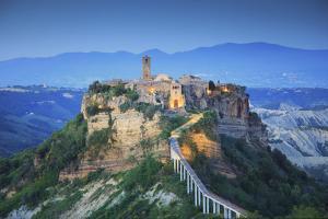Italy, Lazio, Viterbo, Civita di Bagnoregio by Michele Falzone
