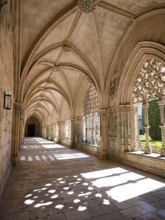 King Afonso V Cloister, Monastery of Santa Maria Da Vitoria, Batalha, Estremadura, Portugal