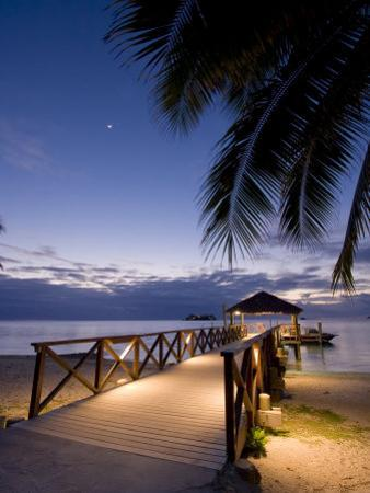 Luxury Resort, Malolo Island, Mamanuca Group, Fiji by Michele Falzone