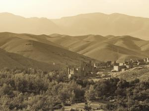 Morocco, High Atlas Mountains, Kasbah Ait Arbi by Michele Falzone