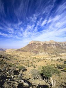 Oman, Hajjar Mountain Range, Jebel Shams Mountain by Michele Falzone