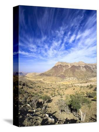Oman, Hajjar Mountain Range, Jebel Shams Mountain
