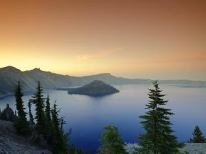 Oregon, Crater Lake National Park, Crater Lake and Wizard Island, USA by Michele Falzone