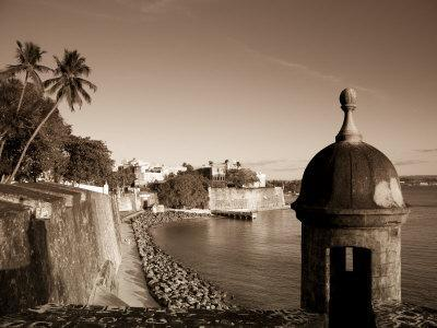 San Juan, Old Town, Paseo Del Morro and La Muralla, Puerto Rico
