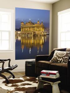 Sikh Golden Temple of Amritsar, Punjab, India by Michele Falzone