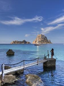 Spain, Balearic Islands, Ibiza, Cala D'Hort Beach by Michele Falzone