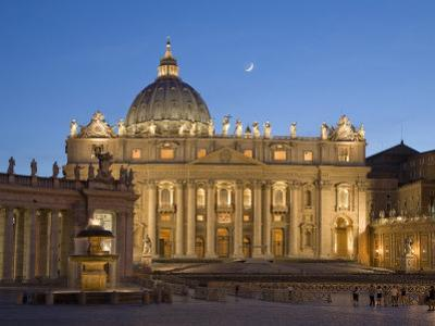 St. Peter's Basilica, the Vatican, Rome, Italy by Michele Falzone