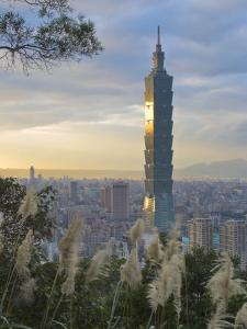 Taipei 101 Skyscraper, Taipei, Taiwan by Michele Falzone