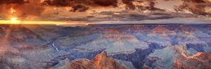 USA, Arizona, Grand Canyon National Park (South Rim), Colorado River from Mohave Point by Michele Falzone