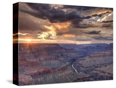 USA, Arizona, Grand Canyon National Park (South Rim), Colorado River from Mohave Point