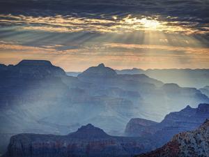 USA, Arizona, Grand Canyon National Park (South Rim), Mather Point by Michele Falzone