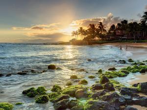 USA, Hawaii, Kauai, the Luxurious Resort Area of Poipu Beach by Michele Falzone