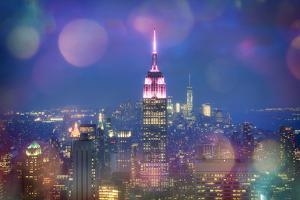 Usa, New York, New York City, Empire State Building and Midtown Manhattan Skyline by Michele Falzone