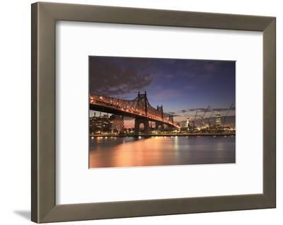 Usa, New York, New York City, Manhattan, Ed Koch Queensboro Bridge
