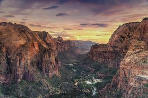 Zion Canyon National Park by Michele Falzone
