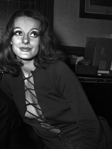 Michele Frascoli in the Office of Alain Bensimhon, Paris, November 1969