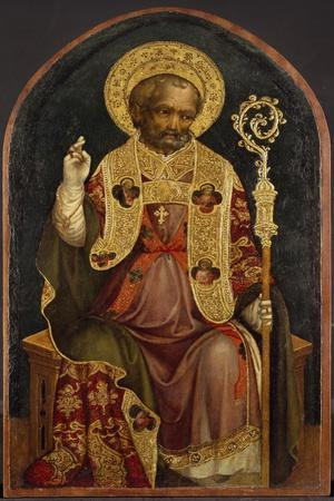 A Bishop Saint, 15th Century