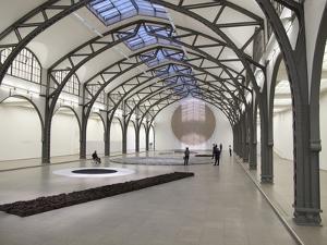 Berlin Circle by Richard Long at the Hamburger Bahnhof Museum, Berlin, Germany by Michele Molinari