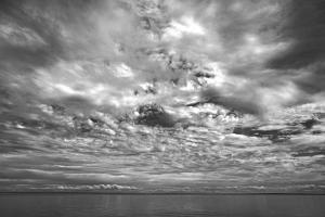 Canada, Prince Edward Island. Clouds and ocean by Michele Molinari