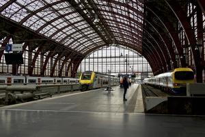 Centraal Station, Belgium, Antwerp. by Michele Molinari