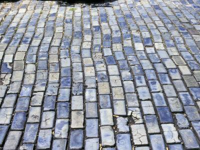 Cobblestone Street, Small Stone as Ballast on Spaniards Galleons, Puerto Rico