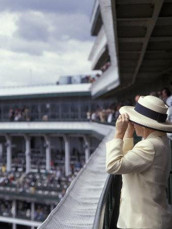 Lady's Hats, Derby Day at Churchill Downs Race Track, Louisville, Kentucky, USA