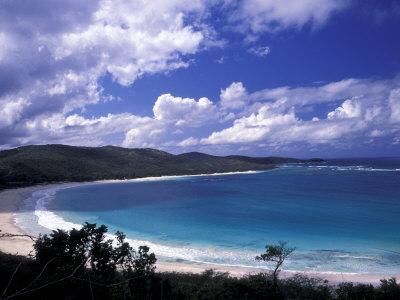 Soni Beach on Culebra Island, Puerto Rico