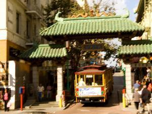 Entrance to Chinatown, San Francisco, California, USA by Michele Westmorland