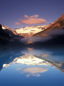 Lake Louise Morning, Canada by Michele Westmorland