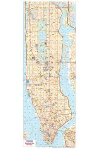 Michelin Official New York City Road Map Poster