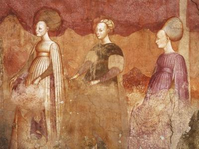 Ball Game, Detail from Games of the Borromeo Nobles Fresco Cycle