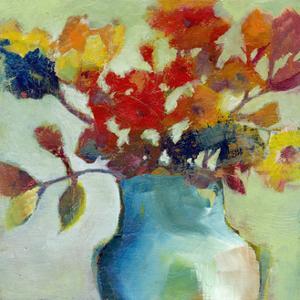 Blue Vase by Michelle Abrams