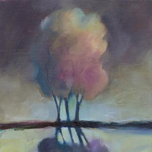 Misty Trees by Michelle Abrams
