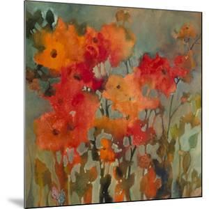 Orange Flower by Michelle Abrams