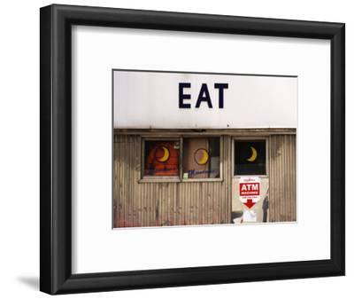 Eat' Sign on Exterior of Moondance Diner, 6th Avenue at Broome Street, Soho