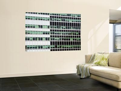 Pattern of High-Rise Office Windows, Lower Manhattan
