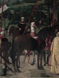 Soldier on Horseback by Michelle da Verona