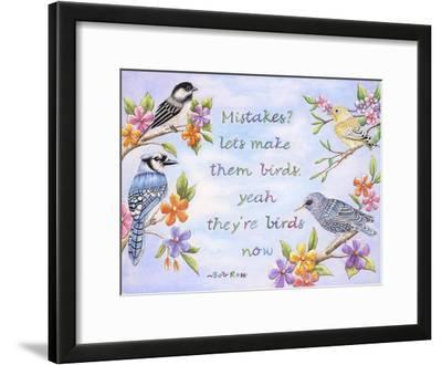 Birds and Flowers Quote