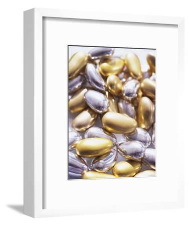 Gold and Silver Sugared Almonds