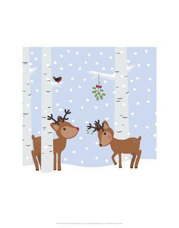 Reindee Love - Wink Designs Contemporary Print