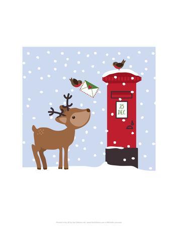 Reindeer - Wink Designs Contemporary Print