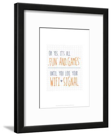 Wifi Signal - Wink Designs Contemporary Print